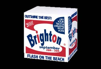 Flash on the Beach, Brighton 26th to 29th Septhember 2010