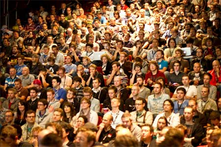 FOTB Audience in the Corn Exchange